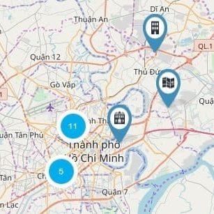 Bản đồ bất động sản - 2. Cụm bất động sản