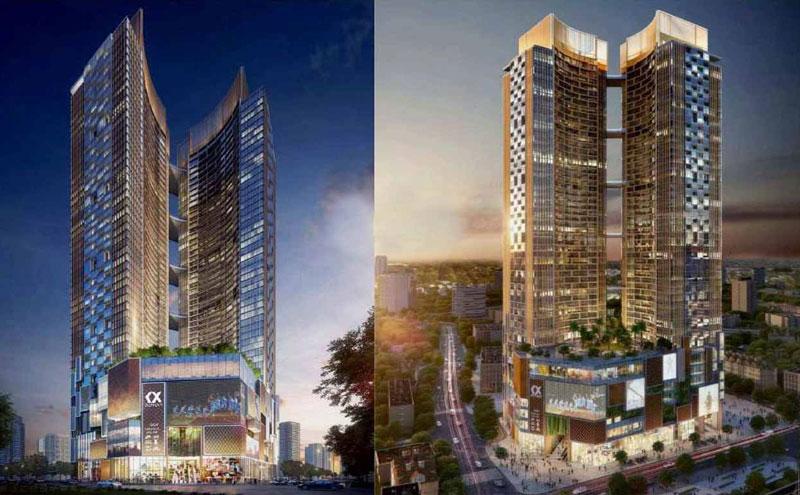 Phối cảnh dự án căn hộ Alpha Hill Cống Quỳnh Quận 1 Tp.Hồ Chí Minh