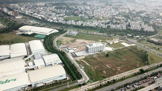 Khu công nghệ cao (Q.9) ở khu Đông TP.HCM