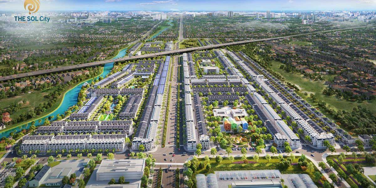 Dự án bất động sản The Sol City Long An