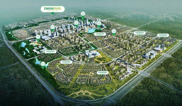 Dự án bất động sản biệt thự Swanpark