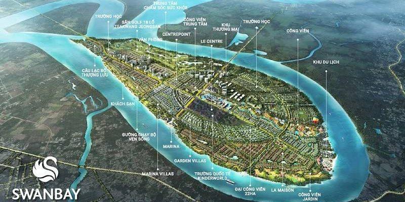 Tổng thể quy hoạch Swanbay Đồng Nai